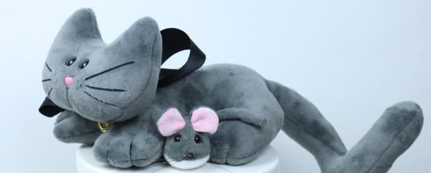 Gatinho Dick e ratinho